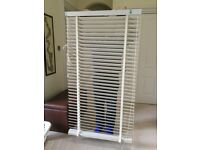 White wood Venetian Blind - 50mm slats