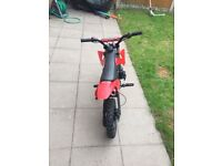 Mini moto sport