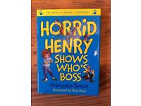 3 Horrid Henry Books