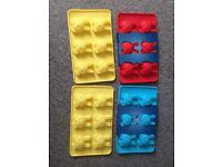 Silicone baking moulds. Rabbit.