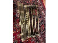 Brass fire front grate new