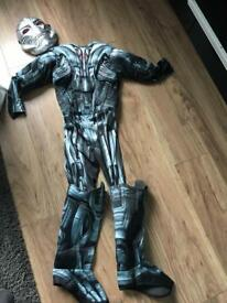 Avengers ultron costume age 7-8