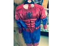 Spider-Man outfit 3/4 years