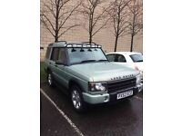 Land Rover Discovery, 2.5 td5 / swap for a van
