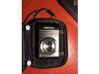 Samsung ST66 Compact Digital Camera - Black + case