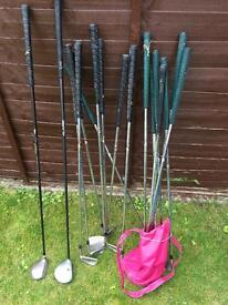 Selection of golf clubs free