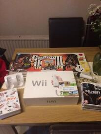 Wii Console plus extras.