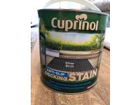 Cuprinol anti-slip decking stain 2.5L - Silver Birch