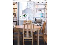 Ikea-BJURSTA-Estended-Table , Lovely Condition