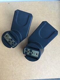 Quinny Zapp adapter set for maxi cosi
