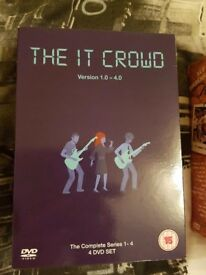 The IT crowd complete boxset dvd