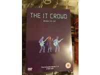 The IT crowd complete boxset dvd