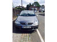 For sale Volkswagen Golf 1.9 TDI, 2008.(Lady driver). Some service history. MOT till June 2018