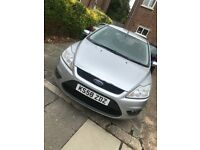 Ford Focus 1.8 style , petrol , manual , silver , 2009