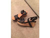 Topshop sandals (wedges)