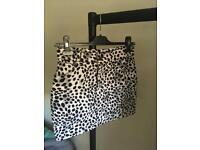 Motel Rocks denim mini skirt XS