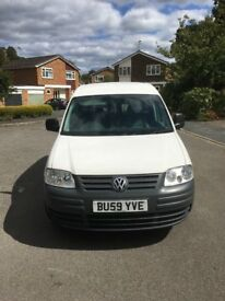 2009 59 VW CADDY 2.0 SDI SO NO TURBO TO WORRY ABOUT NEW MOT AND LOW MILEAGE 2 OWNER PRICED TO SALE