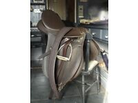 Wintec gp 18 inch saddle (brown) vgc