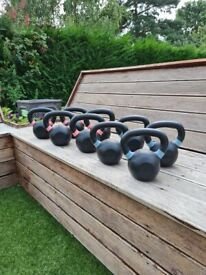 NEW Cast Iron Kettlebell - from 6kg - 28kg