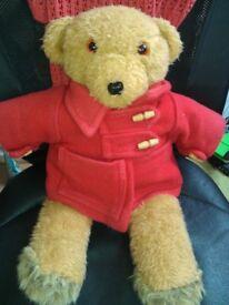 cute teddy bear 70's