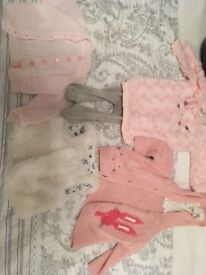 Baby girls 0-3 months bundle clothes