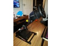 PS4 Thrustmaster T300 GT steering wheel and stand