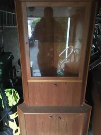 G-Plan corner display unit