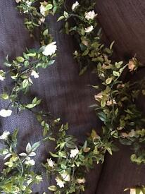 Ivory Silk Rose Flower Garlands Wedding