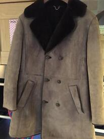 Gents 3/4 Length Sheepskin Coat