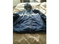 Reverse mens jacket