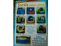 Jacks Bouncy Castles and hot tub hire