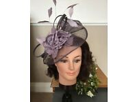 Jacques Vert Fascinator, shades of lilac