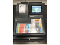 Cash Register 100+ product buttons thermal printer.