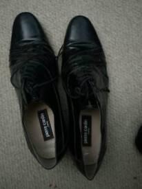 Pierre cardin cuban heeled mens shoes