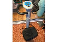 Vibrapower vibrating fitness plate gym equipment £35