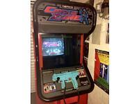 1999 Namco Crisis Zone Arcade Machine