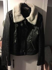 Genuine Real Leather Karen Millen Jacket