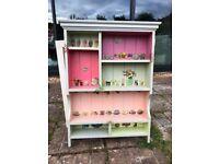 Farmhouse spice/storage Shelving Unit