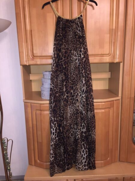 brautkleid abendkleid ballkleid sommerkleid leopard gr 42 44 in essen essen borbeck ebay. Black Bedroom Furniture Sets. Home Design Ideas
