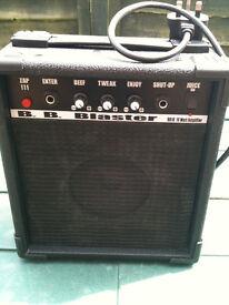 Guitar practice amp (BB blaster 10 watt amp)