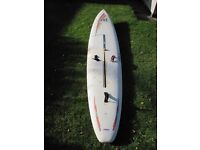 Mistral Competition SST and Bic AstroRock windsurf boards