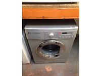 LG 7.5 KG WASHING MACHINE SILVER RECONDITIONED