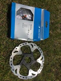 Shimano XT Ice Tech Rotors 180 and NEW UNUSED 160mm