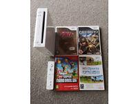 Nintendo Wii + 4 games. £10. Must go today