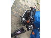 Yamaha Sr 125 learner bike 125cc motorbike moped