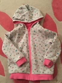 Next Girl's Reversible hooded jacket