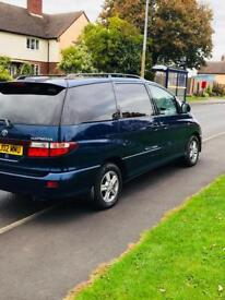 Toyota Previa 2.4 automatic new gearbox