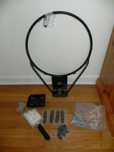 Heavy Duty Steel Basketball Rim Hoop Net, Screws, Spring, ..., Bundle