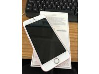 iphone 6 128 GB rose gold with box