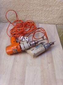 2 Electric drills
